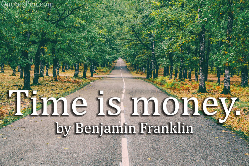 time-is-money-quote