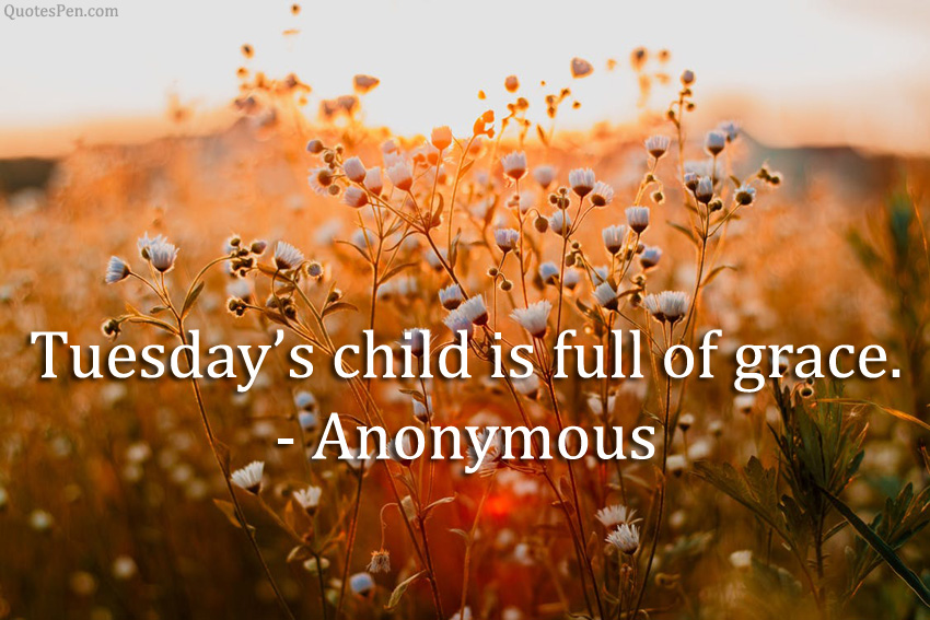 tuesdays-child