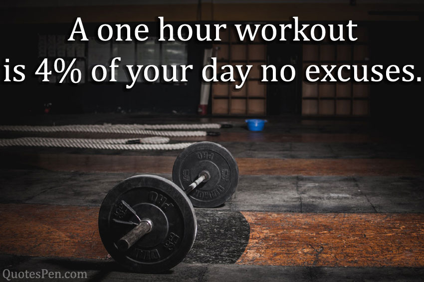 friday fitness workout quote