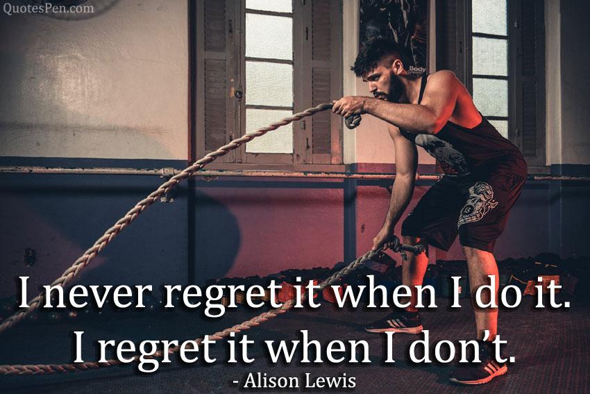 i-never-regret-quote