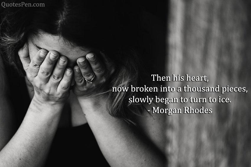 heartbroken depressed quotes