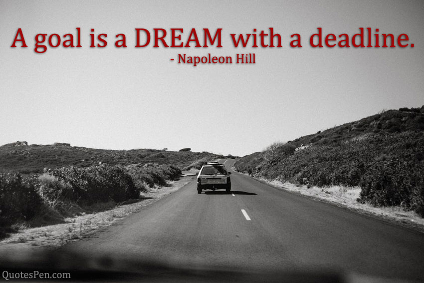 goal-is-a-dream-quotes