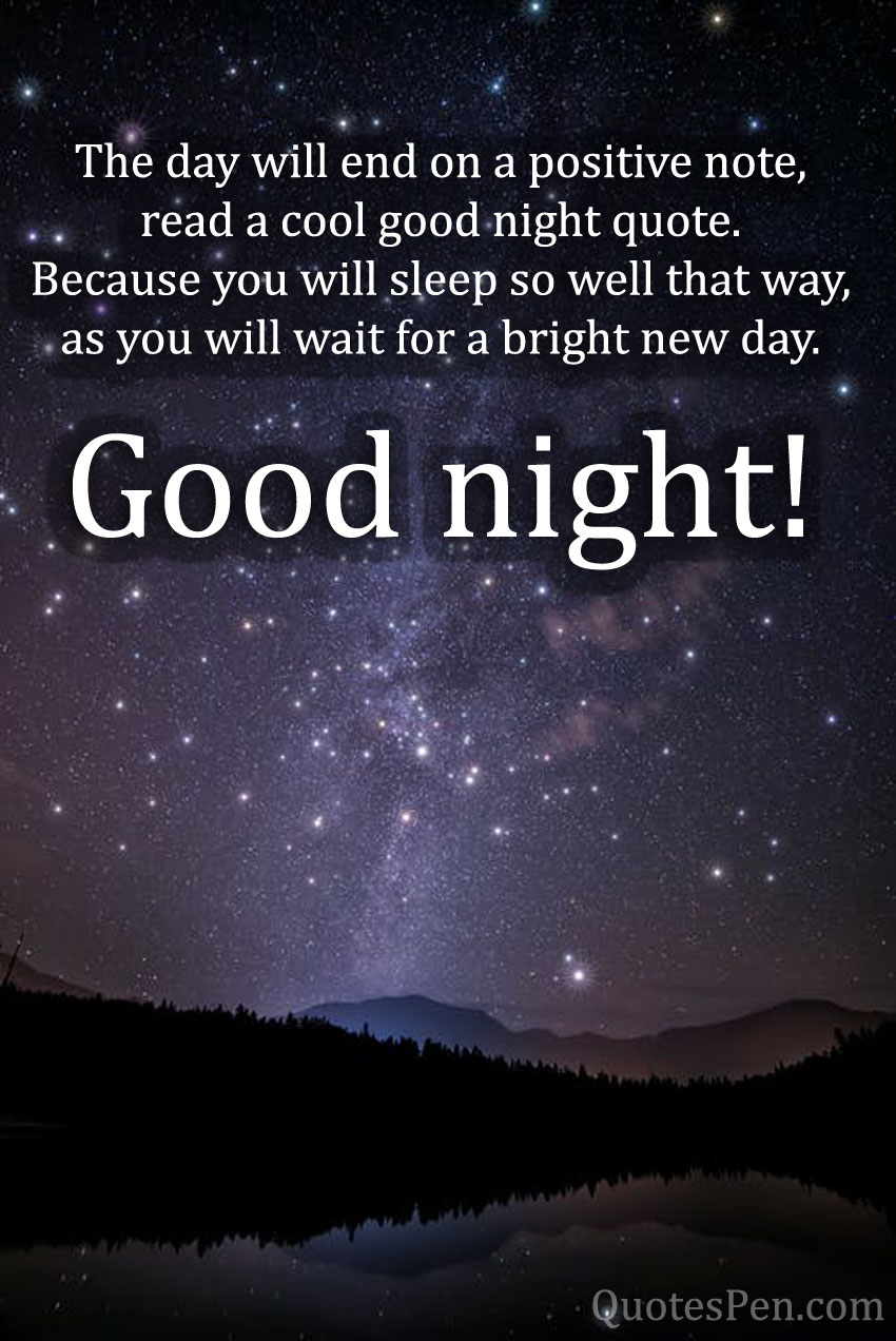 positive-quotes-on-good-night