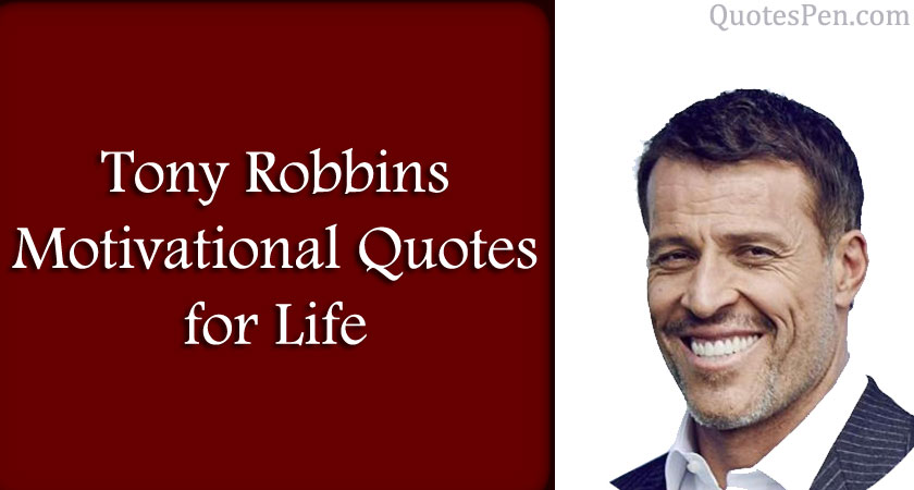 tony robbins motivational quotes for life