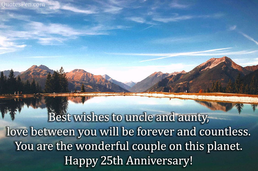 25th-anniversary-wishes-uncle-and-aunts