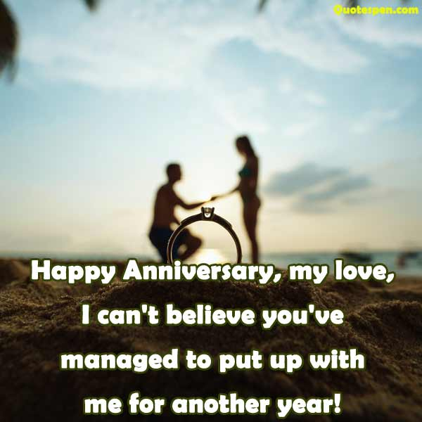 5 year anniversary funny quotes