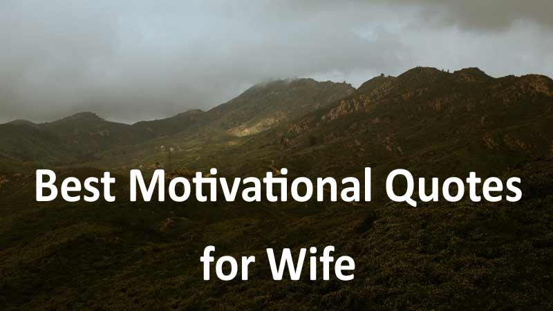 best motivational wife quotes