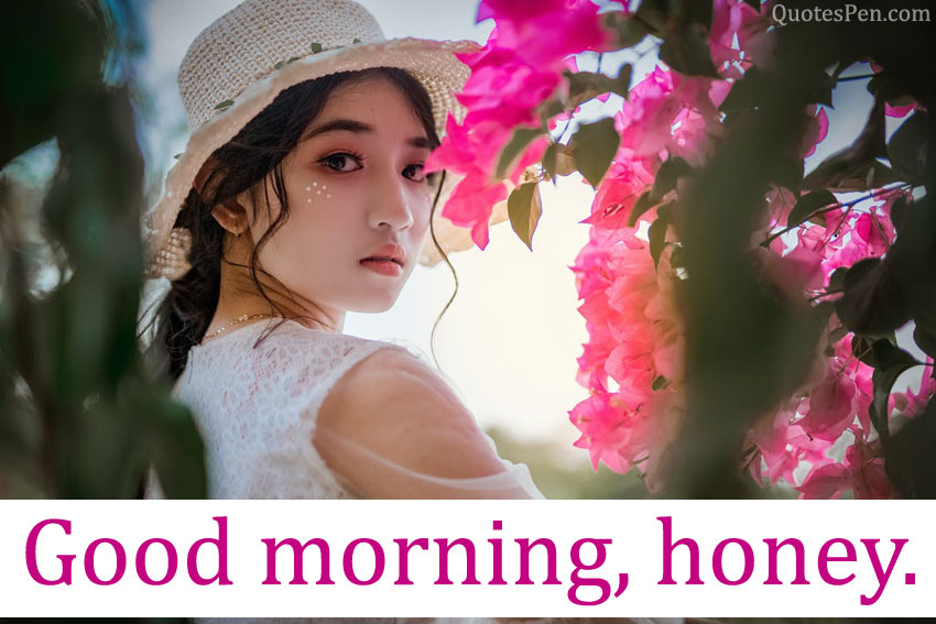 good morning my honey image