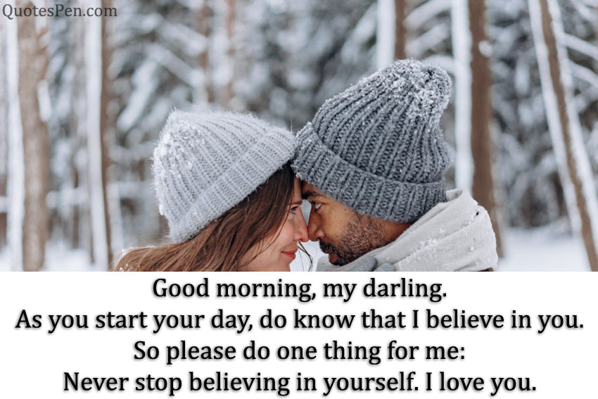 good morning my love quotes for girlfriend