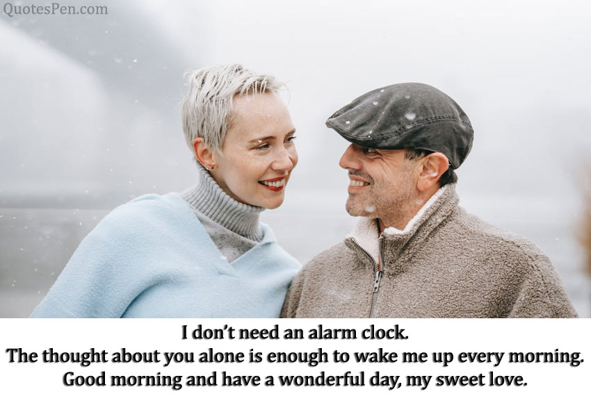romantic good morning quotes wishes for girlfriend
