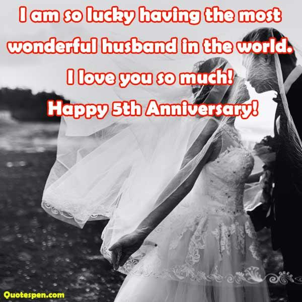 happy 5th anniversary wishes