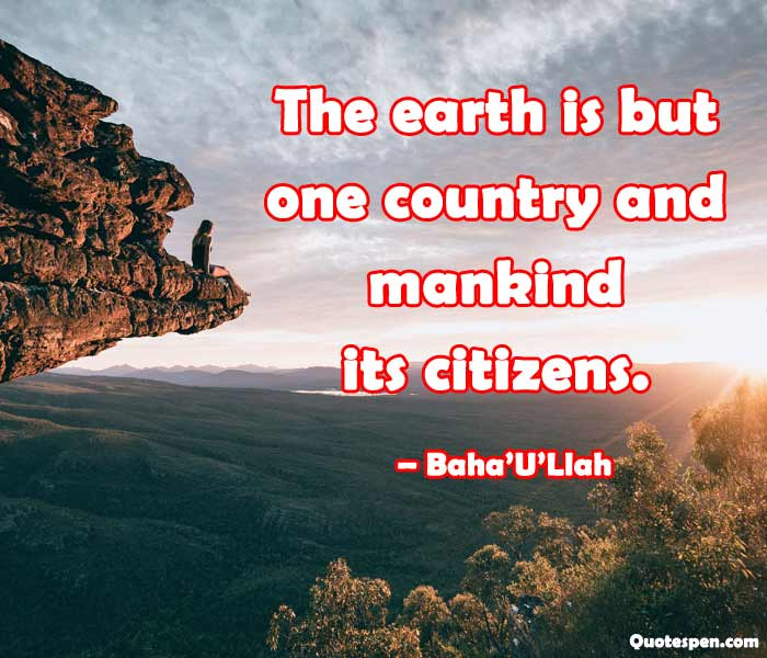 save earth quote
