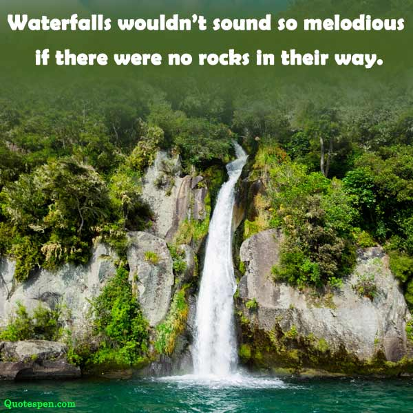 waterfall inspirational quotes