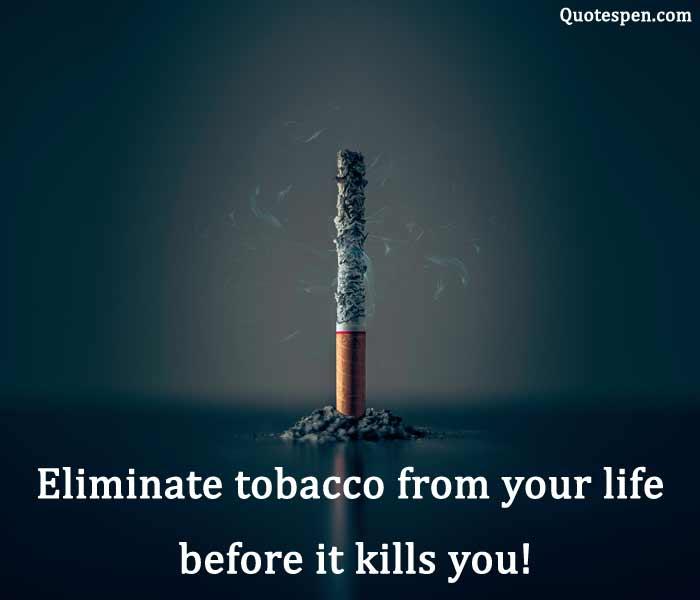 inspirational quit smoking quotes slogan