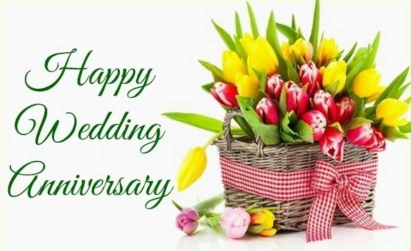 wedding anniversary wishes image for sister