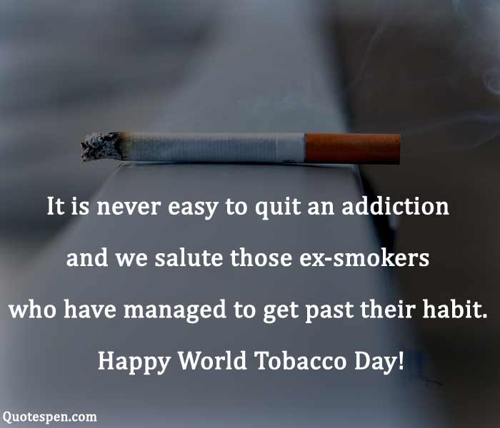 world no tobacco day messages and quotes