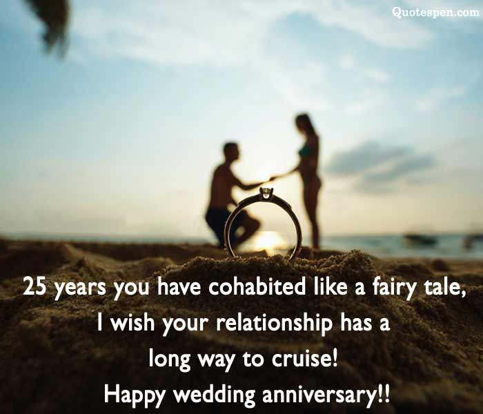 25th-Marriage-Anniversary-My-Friends-Quotes