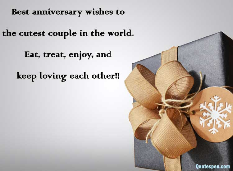 Happy Wedding Anniversary Quotes for Di and Jiju