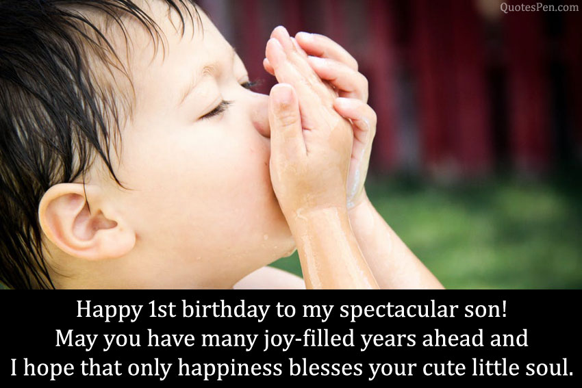 first-birthday-quotes-for-son
