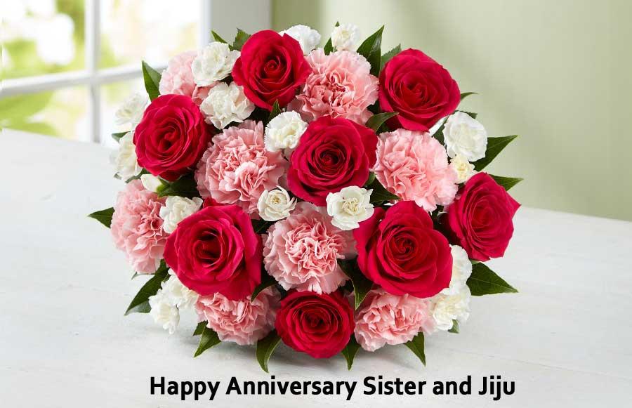 happy anniversary sister and jiju