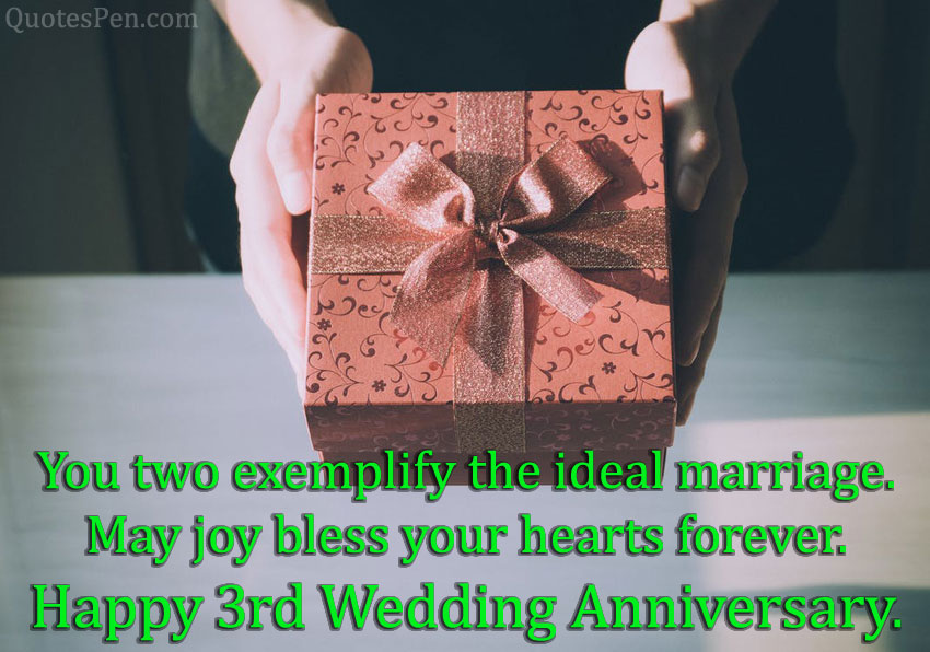 3rd-wedding-anniversary-wishes-for-friend