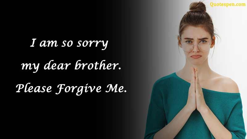 i am so sorry dear brother
