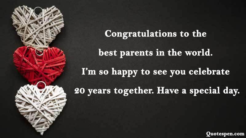 20th-wedding-anniversary-wishes-for-parents