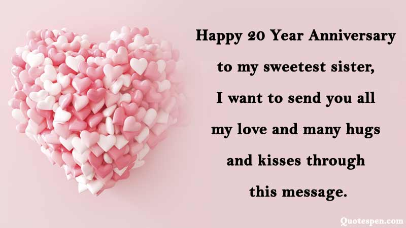 20th-wedding-anniversary-wishes-for-sister