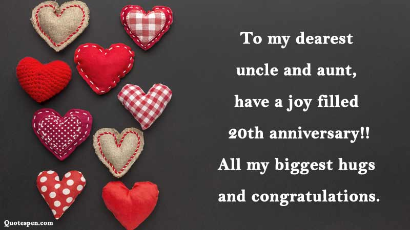20th-wedding-anniversary-wishes-for-uncle-and-aunty