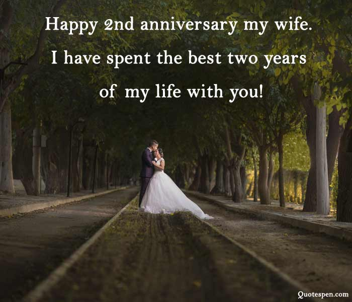 2nd-wedding-anniversary-wishes-for-wife