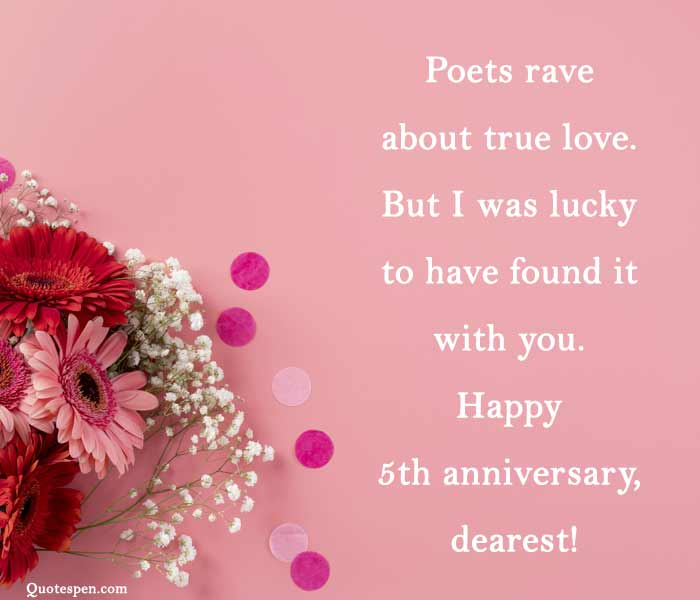 5th-wedding-anniversary-wishes-to-wife