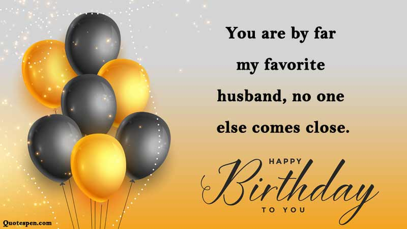 Funny Birthday Messages for Husband