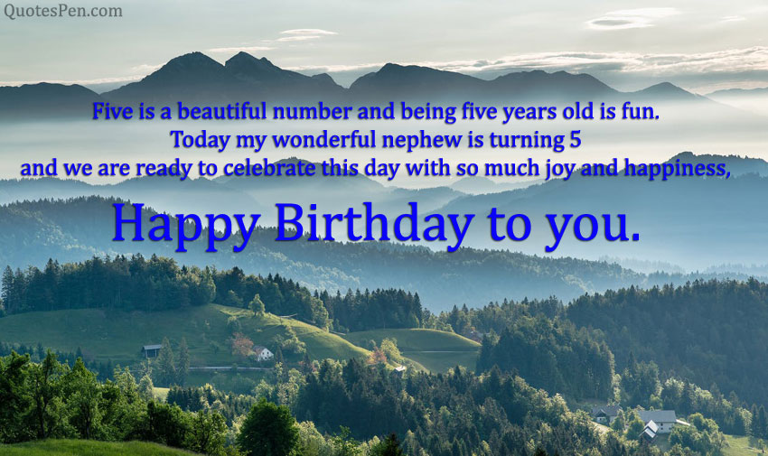 5th-birthday-quote-for-nephew