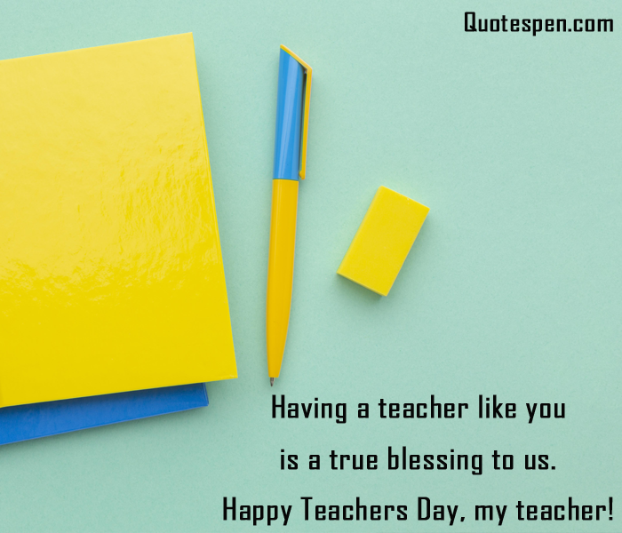 Teachers Day Wishes From Students