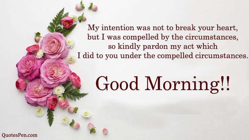 good-morning-sorry-quote