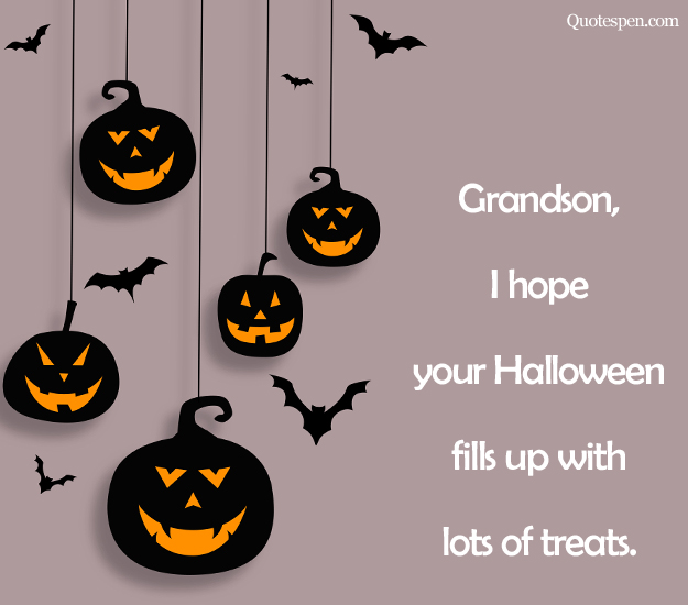 halloween quotes for grandson
