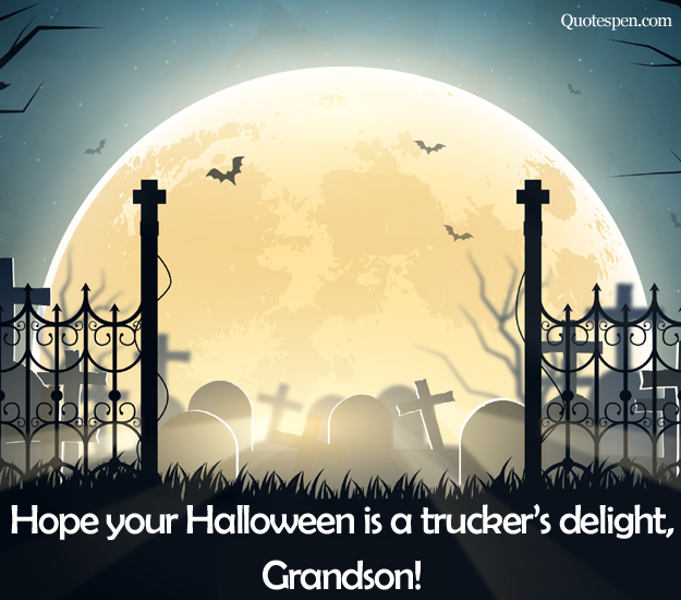 happy halloween wishes quotes for grandson from grandfather